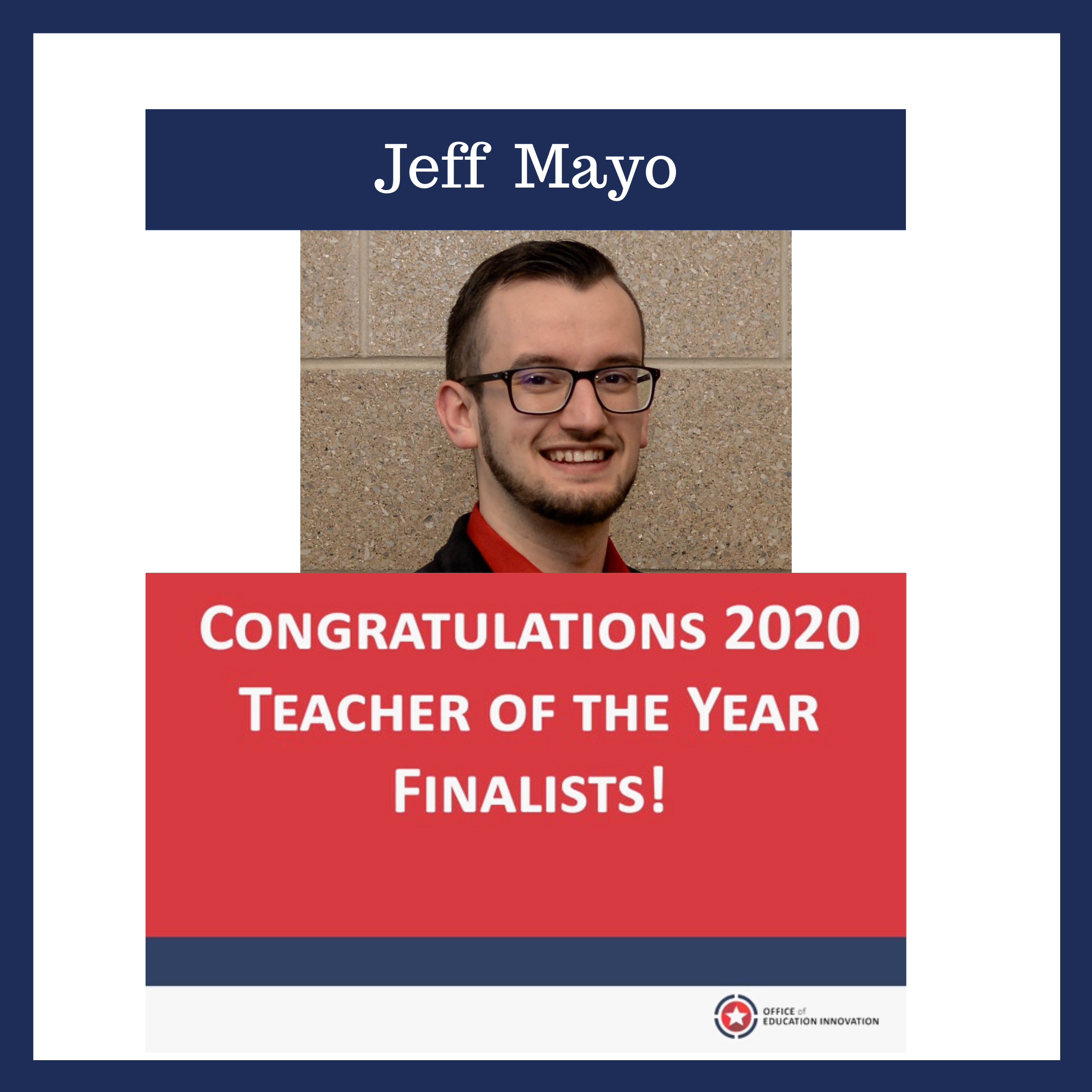 Jeff Mayo: 'This is me giving you permission to explore your students' dreams'